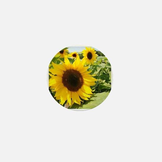 Sunflower Mini Button (10 pack)
