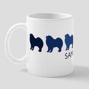Samoyed (blue color spectrum) Mug