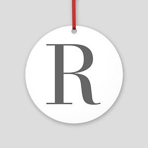R-bod gray Ornament (Round)