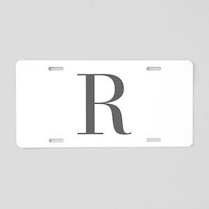 R-bod gray Aluminum License Plate
