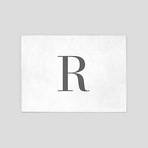 R-bod gray 5'x7'Area Rug