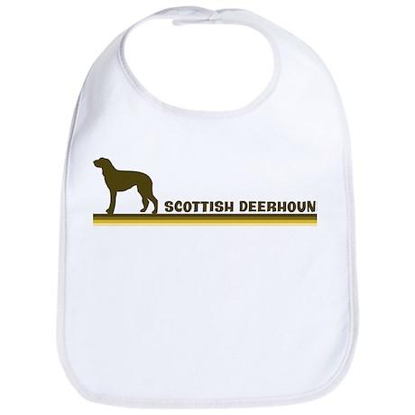 Scottish Deerhound (retro-blu Bib