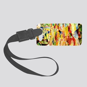 Delaunay - The City of Paris Small Luggage Tag