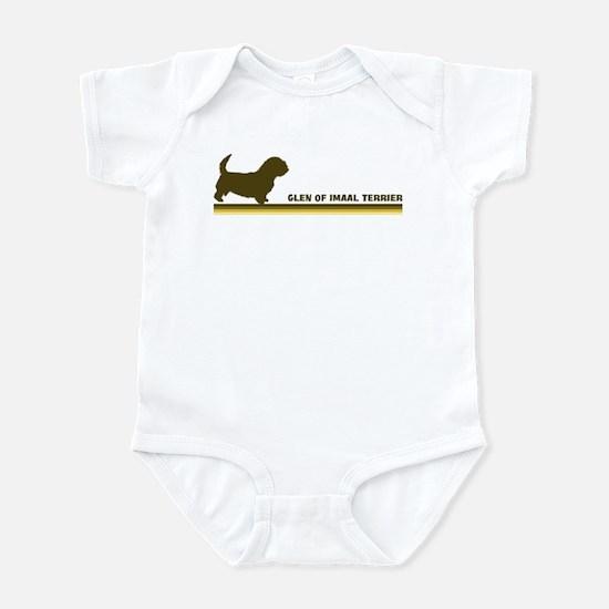 Glen Of Imaal Terrier (retro- Infant Bodysuit