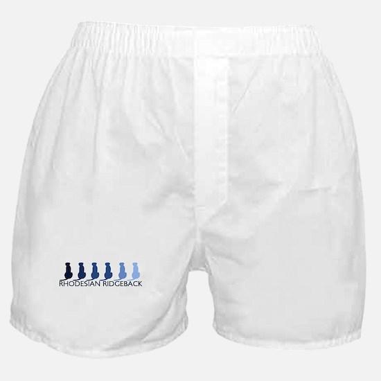 Rhodesian Ridgeback (blue col Boxer Shorts