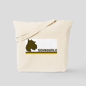 Schnoodle (retro-blue) Tote Bag