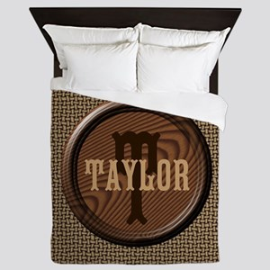 Basket Weave Pattern Queen Duvet