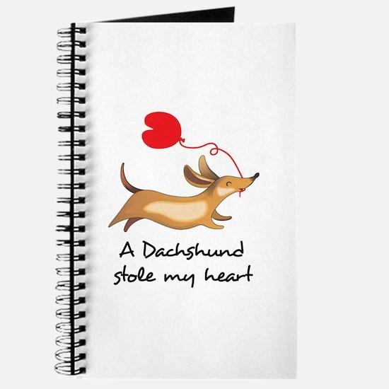 DACHSHUND STOLE MY HEART Journal