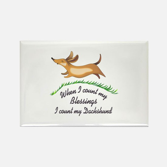 DACHSHUND BLESSINGS Magnets