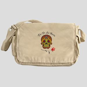 DIA DE LOS MUERTOS Messenger Bag