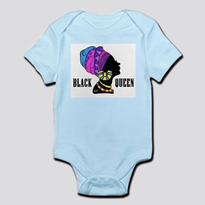 Black African Queen Body Suit