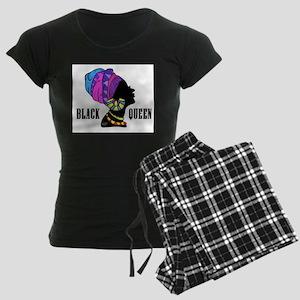 Black African Queen Women's Dark Pajamas