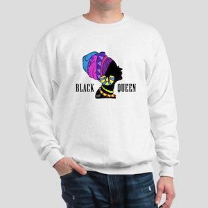 Black African Queen Sweatshirt