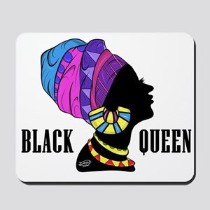 Black African Queen Mousepad