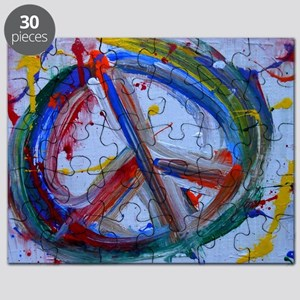 abstract peace Puzzle