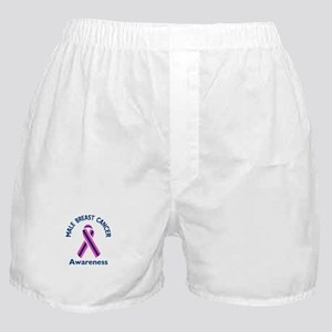 MALE BREAST CANCER Boxer Shorts