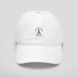 MALE BREAST CANCER Baseball Cap