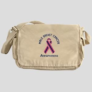 MALE BREAST CANCER Messenger Bag