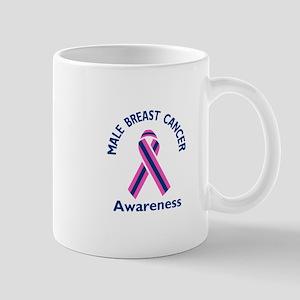 MALE BREAST CANCER Mugs