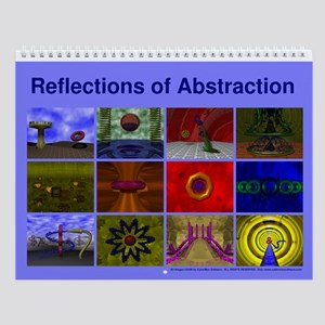 Reflections of Abstraction Wall Calendar