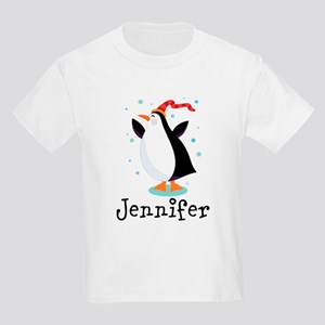 Personalized Penguin Childrens T-Shirt