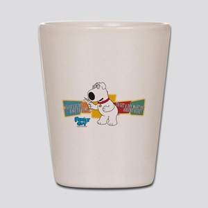 Family Guy Brian Martini Shot Glass