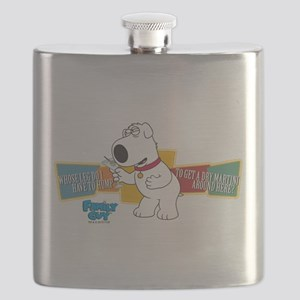 Family Guy Brian Martini Flask