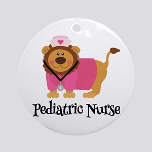 cute er nurse Ornament (Round)