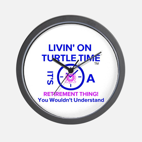 It's A Retirement Thing! Wall Clock