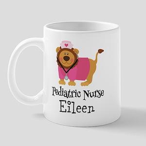Personalized Pediatric Nurse Mugs