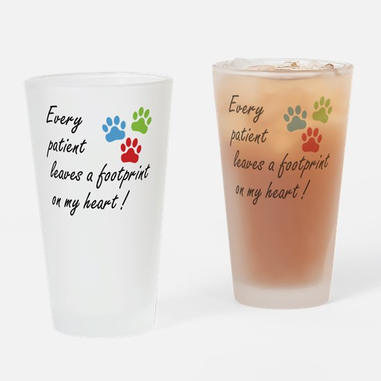 Veterinary Technician Drinking Glass