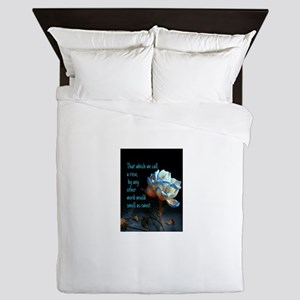 Rose of another name Queen Duvet