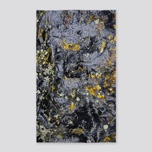 Obsidian and Lichen Area Rug