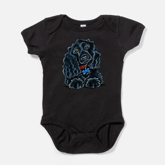 Cocker Spaniel Fitz Baby Bodysuit