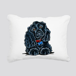 Cocker Spaniel Fitz Rectangular Canvas Pillow