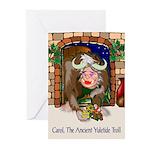 Carol, The Ancient Yuletide Troll (8 Cards)