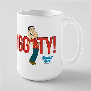 Family Guy Giggity 15 oz Ceramic Large Mug