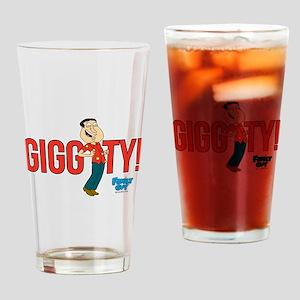 Family Guy Giggity Drinking Glass