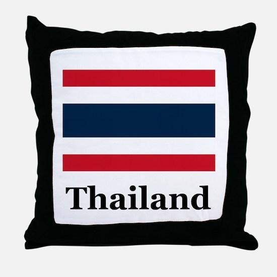 Thai Thailand Throw Pillow