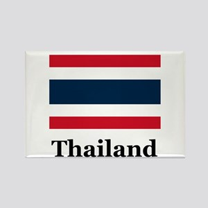Thai Thailand Rectangle Magnet