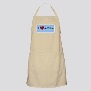 I LOVE SLEEPING BBQ Apron