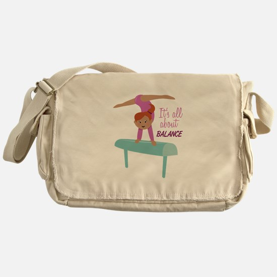Its All About Balance Messenger Bag