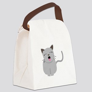 Kitty 1 Canvas Lunch Bag