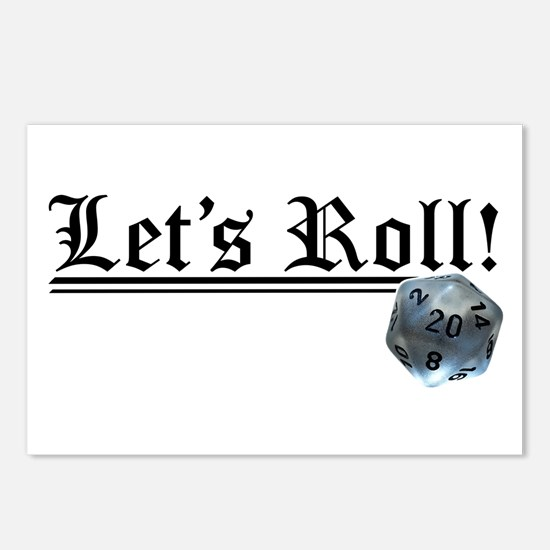 Let's Roll! Postcards (Package of 8)