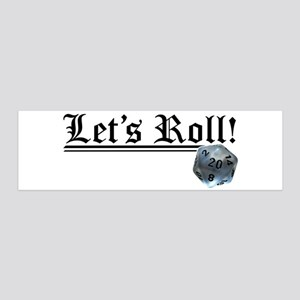 Let's Roll! Wall Decal