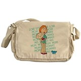 Familyguytv Canvas Messenger Bags