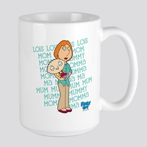 Family Guy Lois Lois Lois Large Mug
