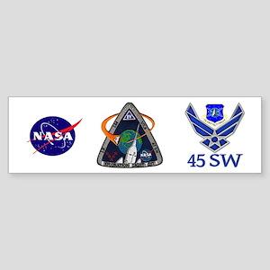 USAF EFT-1 Logo Sticker (Bumper)