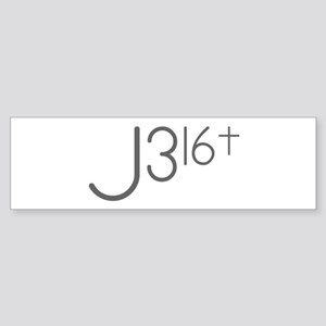 J316Typo Bumper Sticker