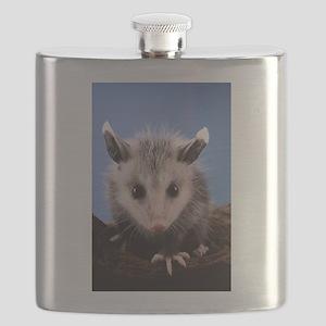 Cute Opossum Flask